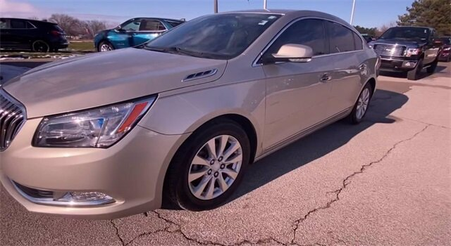 2016 Sparkling Silver Metallic Buick LaCrosse Leather ECOTEC 2.4L I4 DGI DOHC Engine 4 Door Automatic FWD