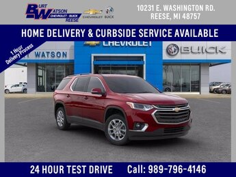 2020 Chevrolet Traverse LT Leather 4 Door 3.6L V6 SIDI VVT Engine Automatic FWD