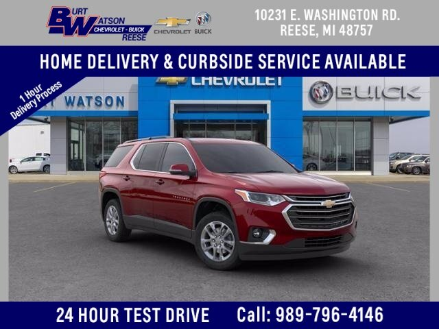 2020 Cajun Red Tintcoat Chevrolet Traverse LT Leather SUV Automatic 3.6L V6 SIDI VVT Engine FWD 4 Door