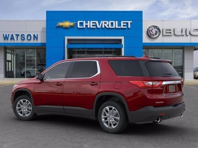 2020 Cajun Red Tintcoat Chevrolet Traverse LT Leather 4 Door Automatic 3.6L V6 SIDI VVT Engine SUV