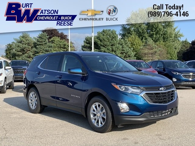 2020 Pacific Blue Metallic Chevy Equinox LT 4 Door Automatic SUV 1.5L DOHC Engine