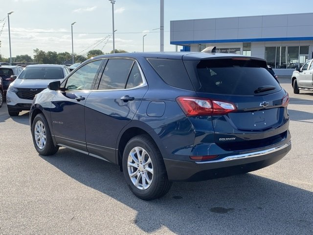 2020 Pacific Blue Metallic Chevy Equinox LT Automatic FWD SUV 1.5L DOHC Engine