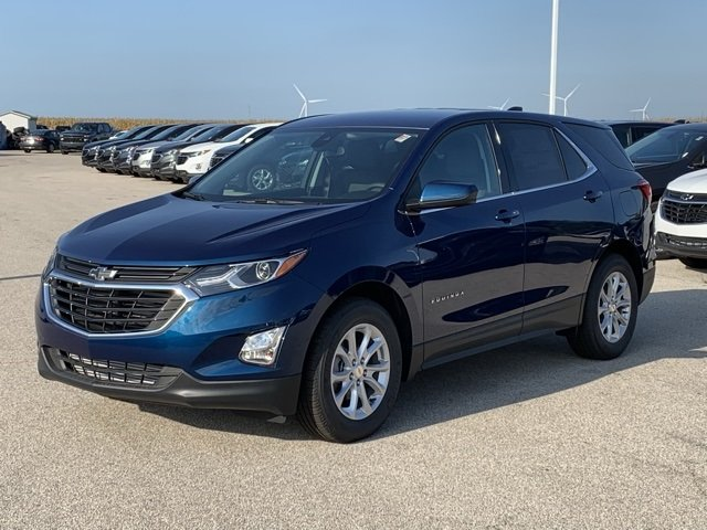 2020 Pacific Blue Metallic Chevy Equinox LT Automatic SUV FWD 4 Door 1.5L DOHC Engine