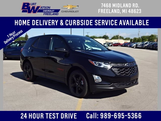 2020 Mosaic Black Metallic Chevrolet Equinox LT 4 Door Automatic 2.0L Turbocharged Engine SUV