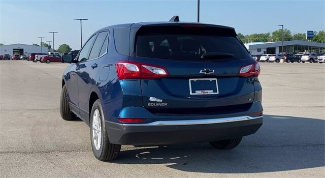 2020 Pacific Blue Metallic Chevrolet Equinox LT SUV Automatic FWD
