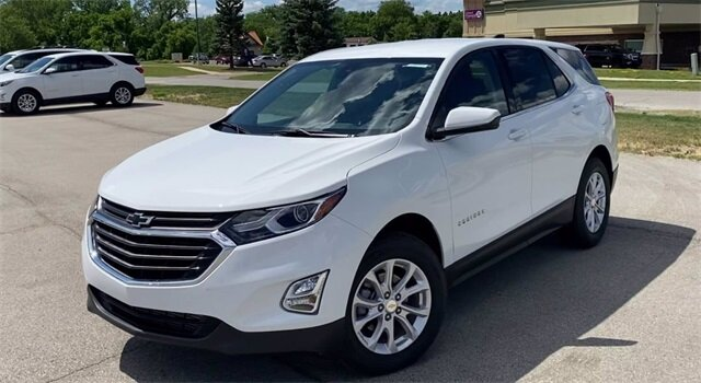 2020 Summit White Chevrolet Equinox LT Automatic SUV 4 Door