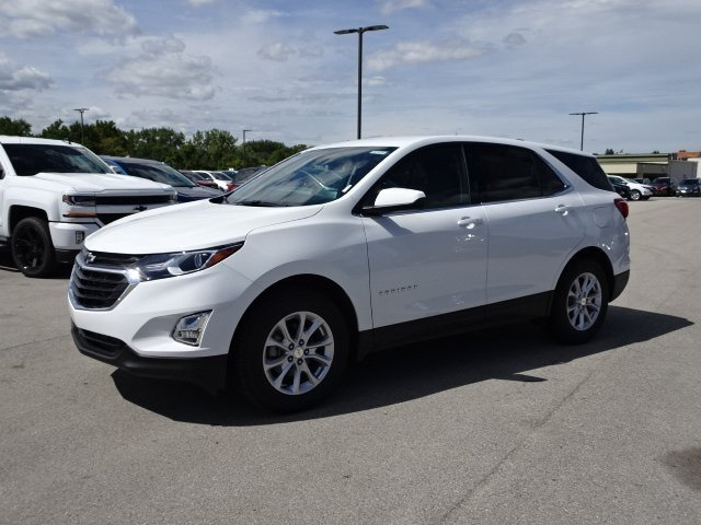 2020 Summit White Chevy Equinox LT FWD 1.5L DOHC Engine SUV Automatic