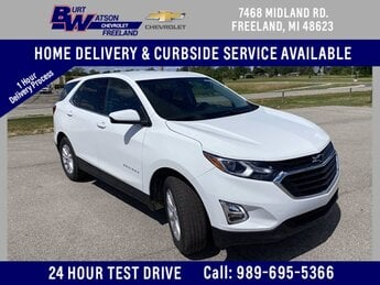 2020 Summit White Chevrolet Equinox LT SUV 1.5L DOHC Engine Automatic