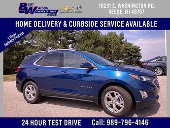 2020 Pacific Blue Metallic Chevrolet Equinox LT Automatic FWD 4 Door 2.0L Turbocharged Engine