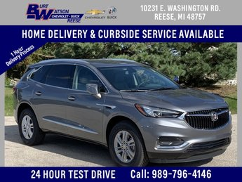 2020 Satin Steel Gray Metallic Buick Enclave Essence 4 Door FWD 3.6L V6 SIDI VVT Engine Automatic SUV