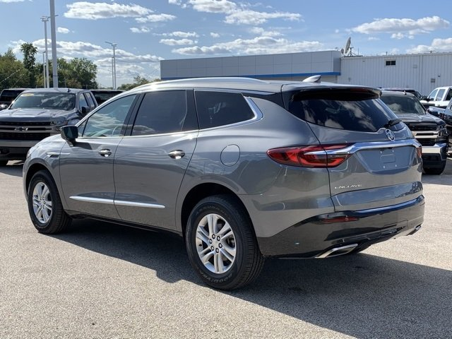 2020 Satin Steel Gray Metallic Buick Enclave Essence SUV FWD Automatic 4 Door 3.6L V6 SIDI VVT Engine