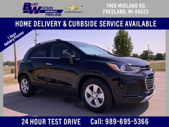 2020 Black Metallic Chevrolet Trax LT ECOTEC 1.4L I4 SMPI DOHC Turbocharged VVT Engine 4 Door SUV Automatic FWD