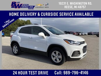 2020 Summit White Chevrolet Trax LT AWD SUV 4 Door Automatic ECOTEC 1.4L I4 SMPI DOHC Turbocharged VVT Engine