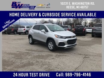 2020 Silver Ice Metallic Chevrolet Trax LT AWD SUV Automatic 4 Door ECOTEC 1.4L I4 SMPI DOHC Turbocharged VVT Engine