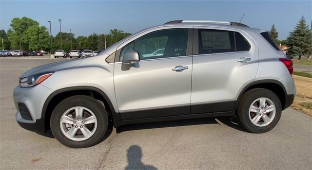 2020 Silver Ice Metallic Chevrolet Trax LT AWD 4 Door SUV Automatic ECOTEC 1.4L I4 SMPI DOHC Turbocharged VVT Engine