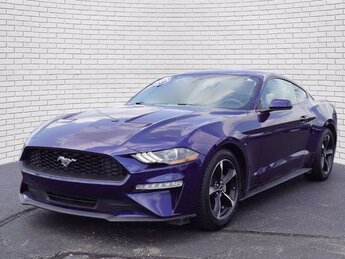 2018 Ford Mustang EcoBoost Car EcoBoost 2.3L I4 GTDi DOHC Turbocharged VCT Engine RWD