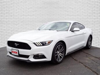 2016 Ford Mustang EcoBoost RWD Automatic EcoBoost 2.3L I4 GTDi DOHC Turbocharged VCT Engine 2 Door Car