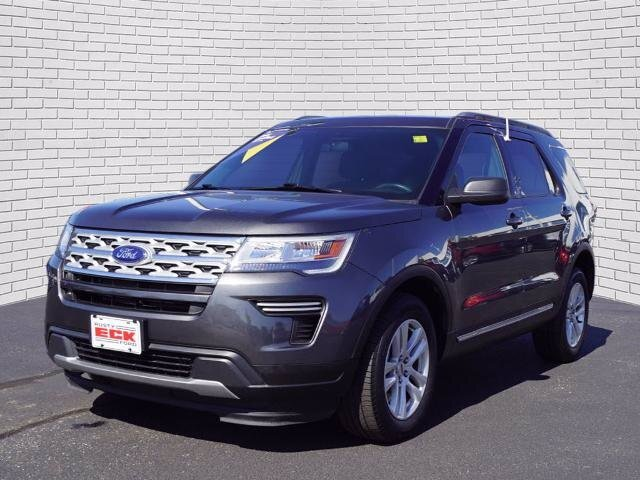 2019 Magnetic Metallic Ford Explorer XLT Automatic 3.5L V6 Ti-VCT Engine SUV 4X4 4 Door