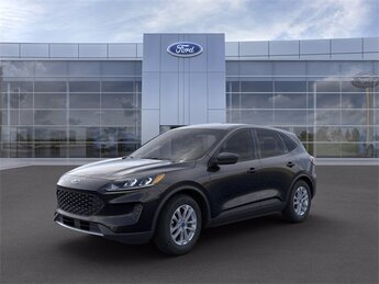 2021 Agate Black Metallic Ford Escape S 1.5L EcoBoost Engine Automatic FWD