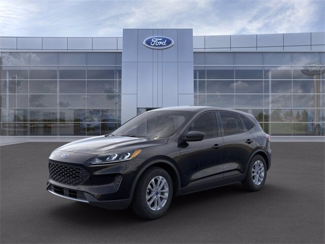 2021 Agate Black Metallic Ford Escape S SUV 1.5L EcoBoost Engine Automatic 4 Door