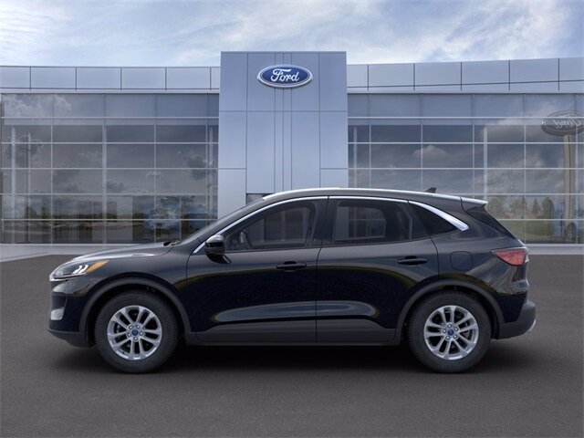 2021 Agate Black Metallic Ford Escape SE FWD Automatic SUV