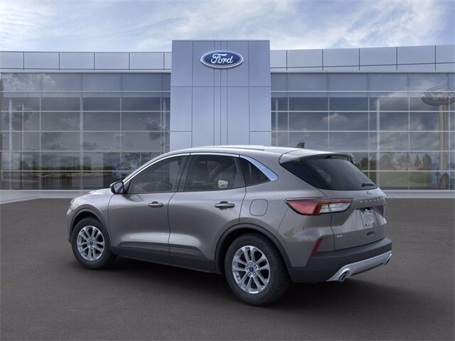 2021 Carbonized Gray Metallic Ford Escape SE Automatic SUV 4 Door