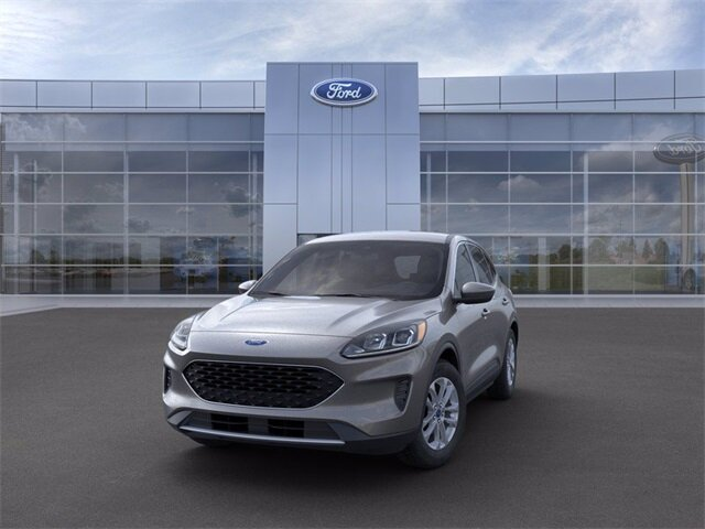 2021 Carbonized Gray Metallic Ford Escape SE FWD 4 Door SUV