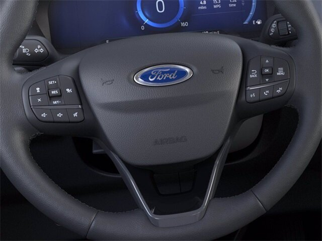 2021 Agate Black Metallic Ford Escape SE 2.5L iVCT Engine AWD SUV