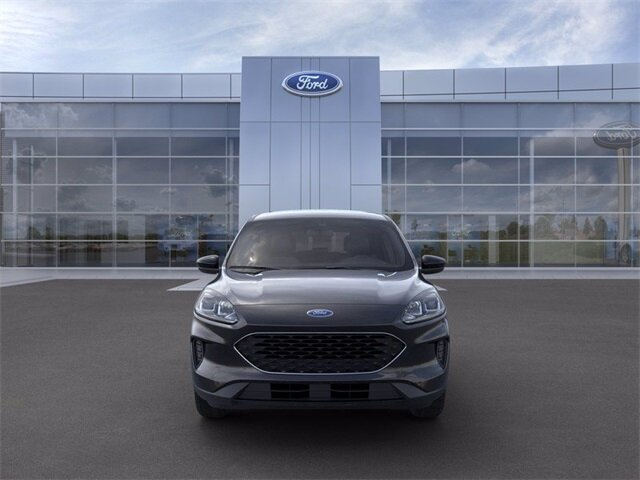 2021 Agate Black Metallic Ford Escape SE AWD Automatic (CVT) SUV 4 Door