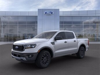 2019 Ingot Silver Metallic Ford Ranger XLT Truck EcoBoost 2.3L I4 GTDi DOHC Turbocharged VCT Engine Automatic 4 Door