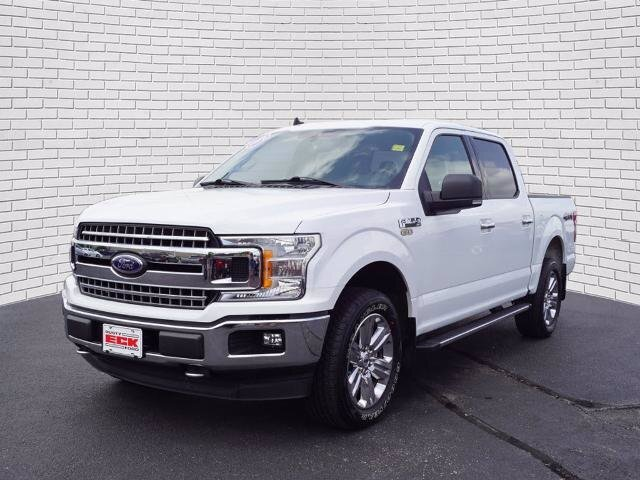 2019 Oxford White Ford F-150 XLT EcoBoost 3.5L V6 GTDi DOHC 24V Twin Turbocharged Engine Truck 4X4 Automatic