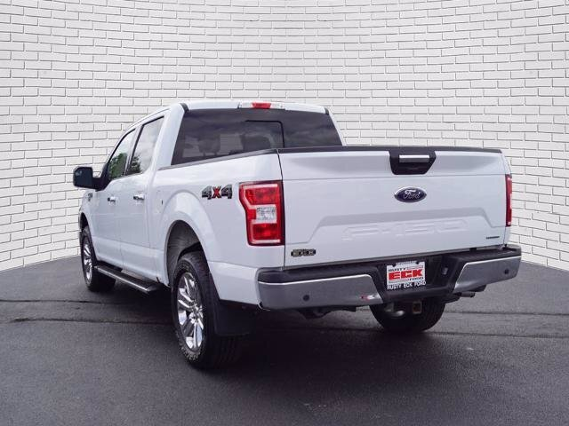 2019 Oxford White Ford F-150 XLT 4 Door Automatic 4X4 EcoBoost 3.5L V6 GTDi DOHC 24V Twin Turbocharged Engine