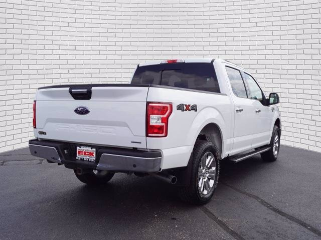 2019 Oxford White Ford F-150 XLT Automatic 4 Door Truck 4X4 EcoBoost 3.5L V6 GTDi DOHC 24V Twin Turbocharged Engine