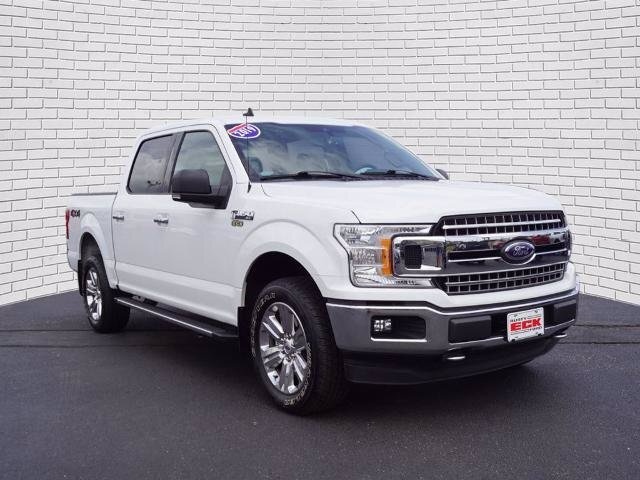2019 Ford F-150 XLT EcoBoost 3.5L V6 GTDi DOHC 24V Twin Turbocharged Engine 4 Door Truck 4X4