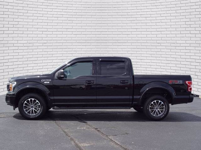 2019 Agate Black Metallic Ford F-150 XLT 5.0L V8 Ti-VCT Engine 4 Door Automatic Truck 4X4