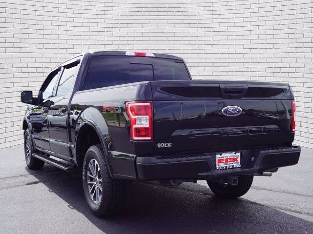 2019 Agate Black Metallic Ford F-150 XLT 4 Door 4X4 Automatic
