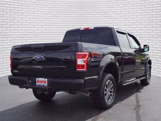 2019 Agate Black Metallic Ford F-150 XLT Truck 5.0L V8 Ti-VCT Engine Automatic 4 Door