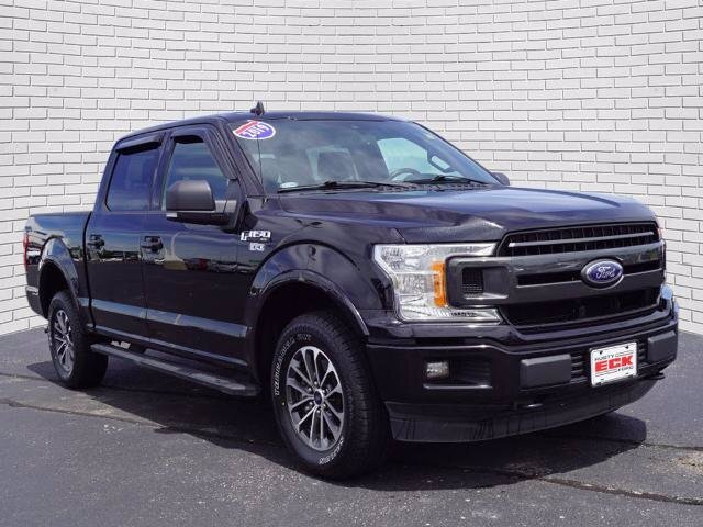 2019 Ford F-150 XLT 4 Door Automatic 4X4 5.0L V8 Ti-VCT Engine Truck