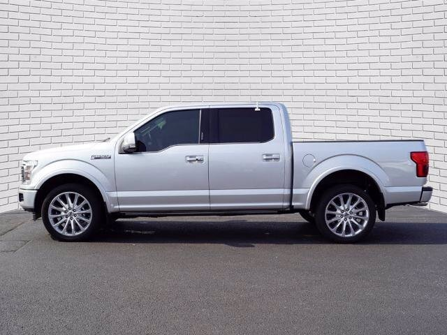 2019 Ingot Silver Metallic Ford F-150 Limited 4X4 EcoBoost 3.5L V6 GTDi DOHC 24V Twin Turbocharged Engine Truck Automatic 4 Door