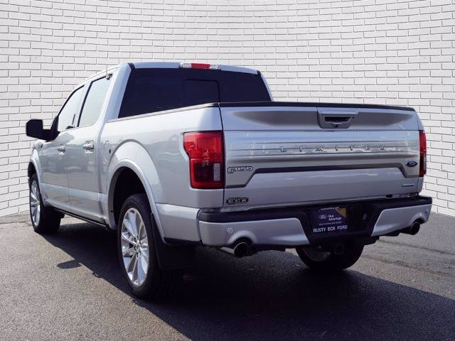2019 Ingot Silver Metallic Ford F-150 Limited Automatic 4X4 4 Door EcoBoost 3.5L V6 GTDi DOHC 24V Twin Turbocharged Engine Truck