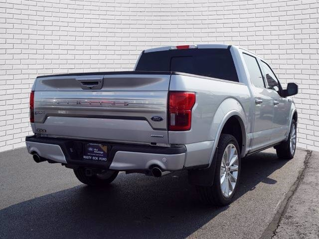 2019 Ingot Silver Metallic Ford F-150 Limited 4X4 Automatic 4 Door EcoBoost 3.5L V6 GTDi DOHC 24V Twin Turbocharged Engine Truck