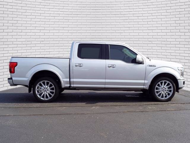 2019 Ingot Silver Metallic Ford F-150 Limited Truck 4X4 4 Door EcoBoost 3.5L V6 GTDi DOHC 24V Twin Turbocharged Engine Automatic