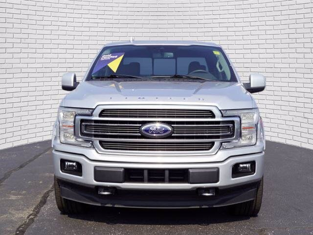 2019 Ingot Silver Metallic Ford F-150 Limited 4X4 4 Door Truck Automatic