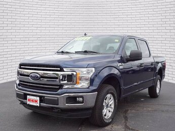 2020 Blue Jeans Metallic Ford F-150 XLT Automatic 4X4 4 Door