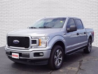 2020 Iconic Silver Metallic Ford F-150 XL 2.7L V6 EcoBoost Engine Automatic Truck 4 Door 4X4