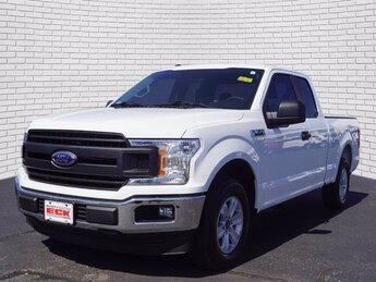 2018 Oxford White Ford F-150 XL RWD Automatic 3.3L V6 Engine 4 Door