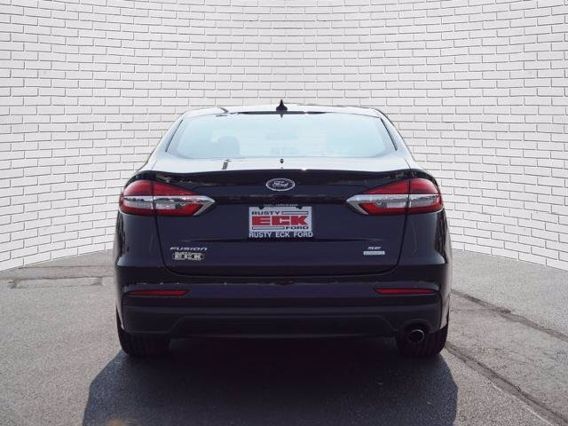 2020 Agate Black Metallic Ford Fusion SE 1.5L EcoBoost Engine 4 Door Automatic FWD