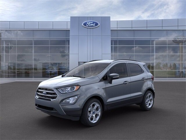 2021 Ford EcoSport SE EcoBoost 1.0L I3 GTDi DOHC Turbocharged VCT Engine 4 Door Automatic