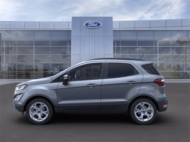 2021 Smoke Metallic Ford EcoSport SE FWD SUV Automatic EcoBoost 1.0L I3 GTDi DOHC Turbocharged VCT Engine