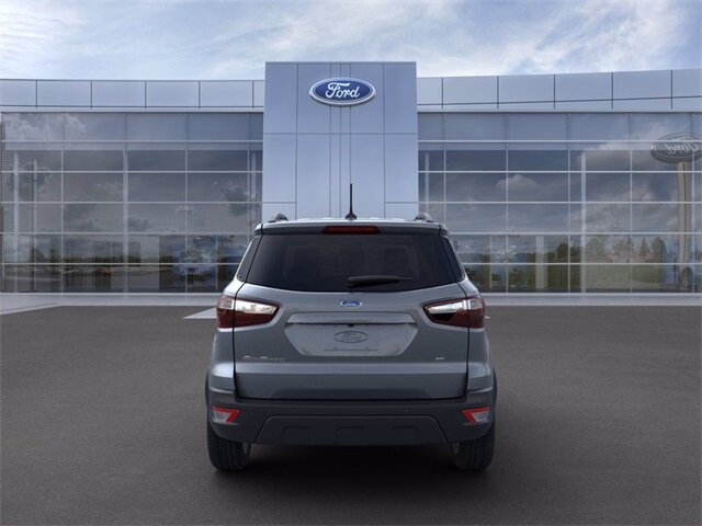 2021 Smoke Metallic Ford EcoSport SE FWD EcoBoost 1.0L I3 GTDi DOHC Turbocharged VCT Engine 4 Door